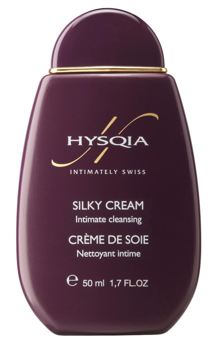 Hysqia Очищающий крем для интимной гигиены Шелк Silky Cream, 50 млH808Легкий крем для интимной гигиены – мягкий и освежающий с нежным, едва уловимым чувственным ароматом. Предназначен для использования при любых обстоятельствах или в особых случаях. Используется без воды, не смывается. Возникающее чувство опрятности и комфорта создает незабываемые ощущения при интимной близости.