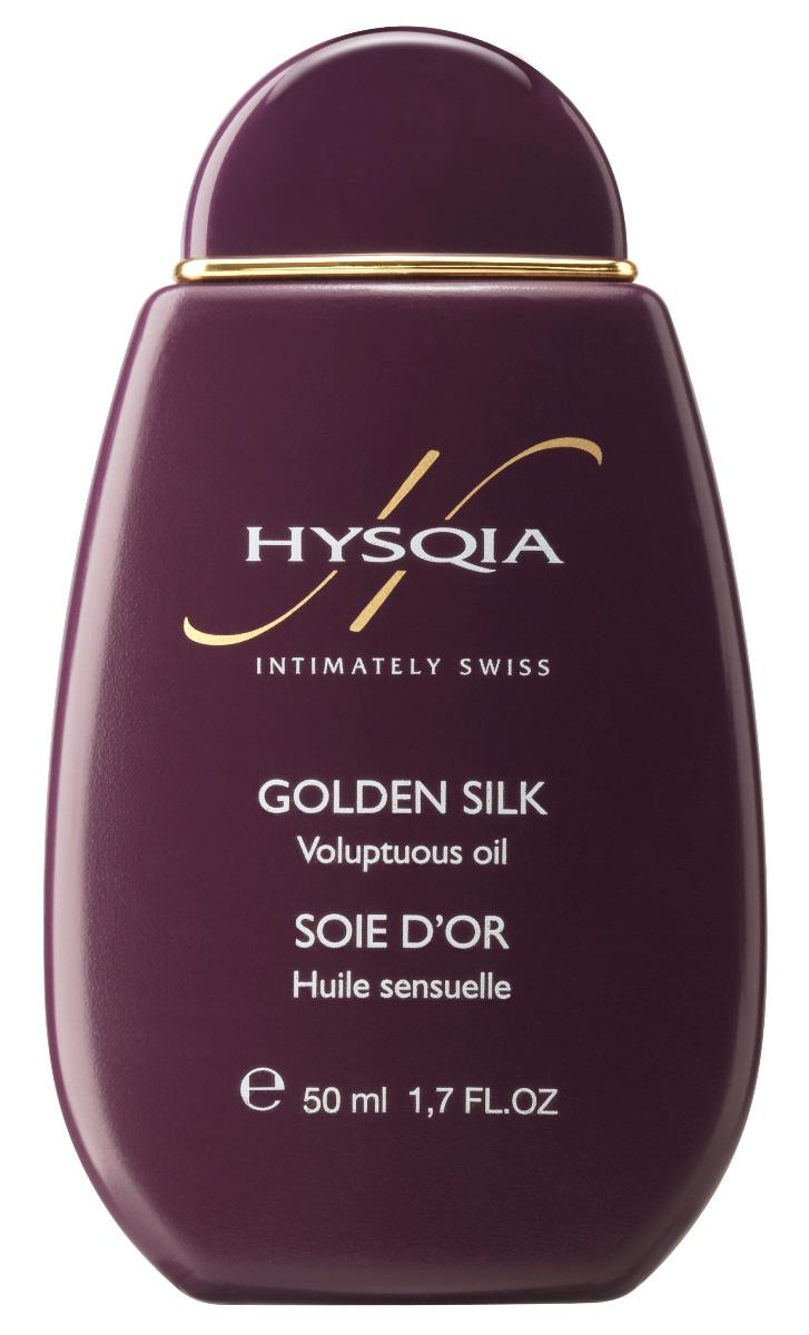 """Hysqia Масло для тела и интимной зоны """"Золотой шелк"""" Golden Silk, 50 мл"""