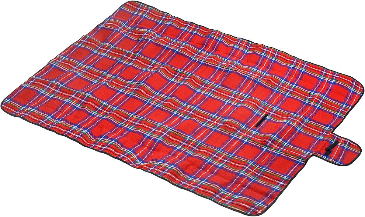 "Коврик для пикника ""Честер"", 150 х200 см ""WILDMAN"" цвет: красный, синий"