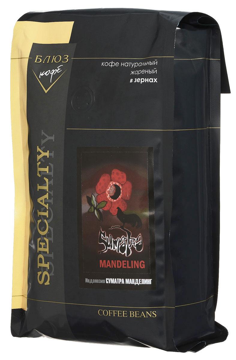 Блюз Индонезия Суматра Манделинг кофе в зернах, 1 кг4600696210040Блюз Индонезия Суматра Манделинг - превосходный кофе с острова Суматра (Индонезия). Сорт выращивается народом Манделинг (от которого и получил своё название) в северном районе Tapanuli. Напиток имеет терпкий, насыщенный вкус с орехово-хлебным привкусом и сильным ароматом. Его настой насыщенный, а в букете заметно преобладание орехово-земляных тонов.