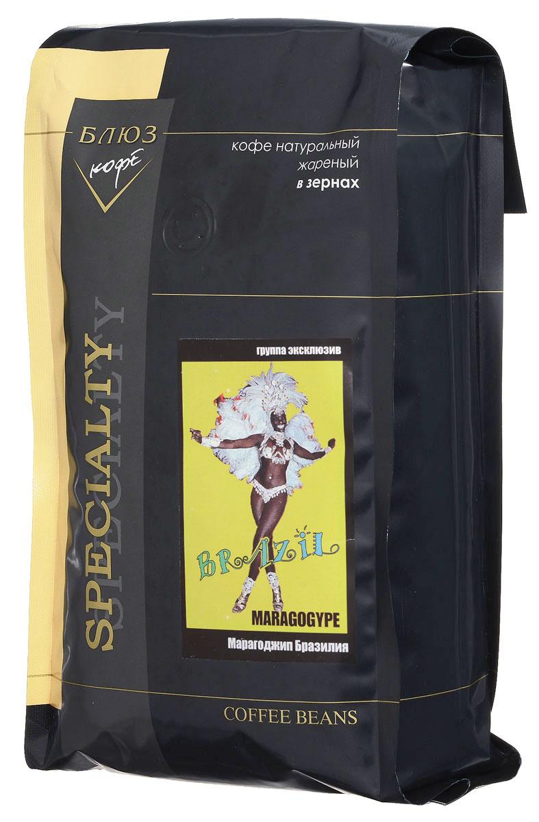 Блюз Марагоджип Бразилия кофе в зернах, 1 кг4600696410129Блюз Марагоджип Бразилия - самая крупная разновидность арабики. Настой насыщенный, терпкий, а кислинка винно - фруктовая. Консистенция напитка - мягкая, обволакивающая, сливочная. Букет отлично сбалансирован. Игривые, сладкие нотки муската, гвоздики, грецкого ореха, цедры лайма подарят незабываемые ощущения. Букет отлично сбалансирован. В длительном послевкусии присутствует аристократическая сигарная горчинка.