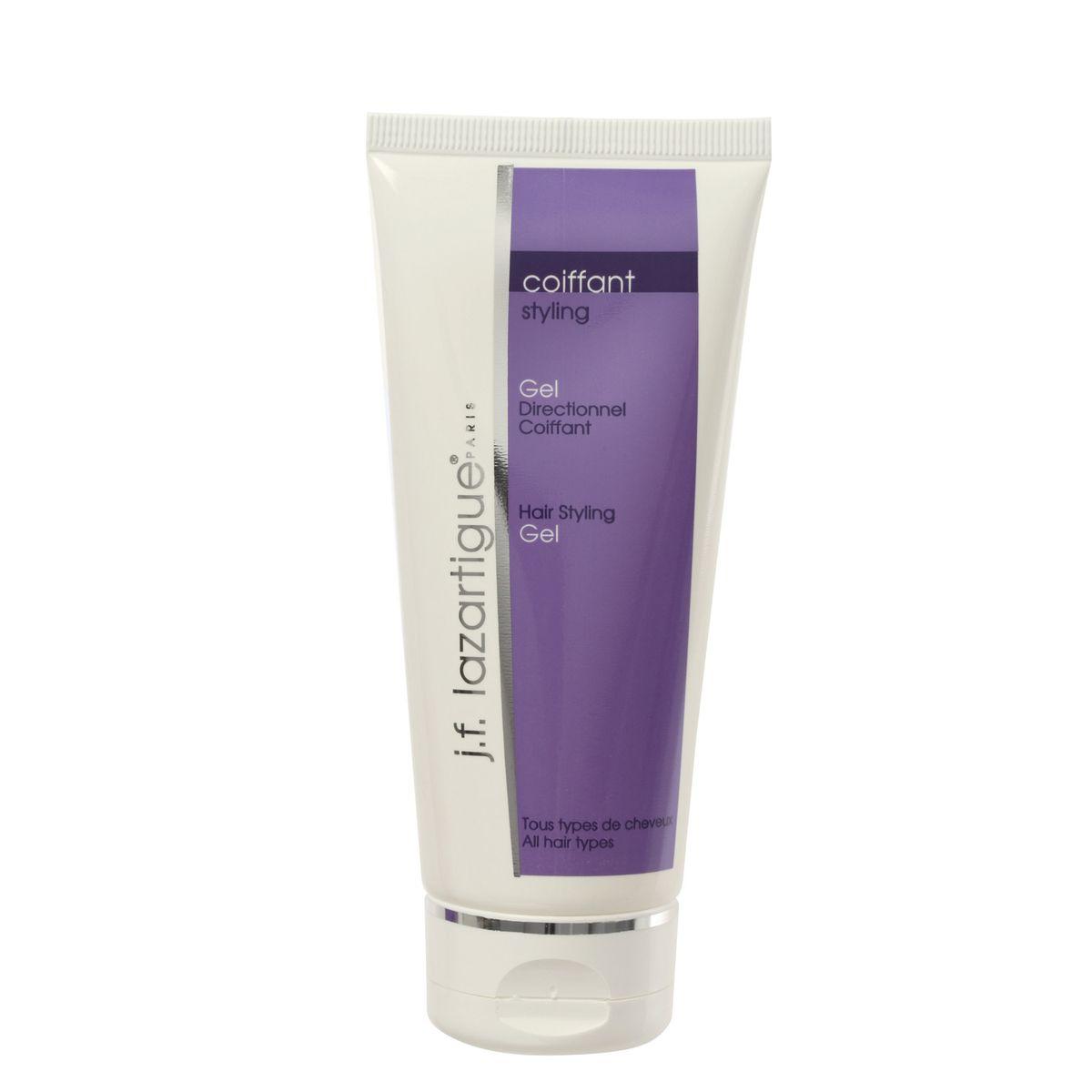 J.F.Lazartigue Гель для укладки волос 100 мл01511Оставляет волосы мягкими и блестящими. Делает прическу пышной, а укладку более прочной, защищает от воздействия влаги и ветра. Чтобы уложить непослушные волосы, создать сложную волну или просто изменить привычную укладку, гель рекомендуется наносить НА ВЛАЖНЫЕ волосы после мытья. Если Вы хотите просто придать прическе прочность или акцентировать внимание на отдельных локонах или завитках – наносите гель НА СУХИЕ волосы. Гель для укладки волос имеет легкую консистенцию, он не делает волосы жирными или тяжелыми, а делает их послушными.