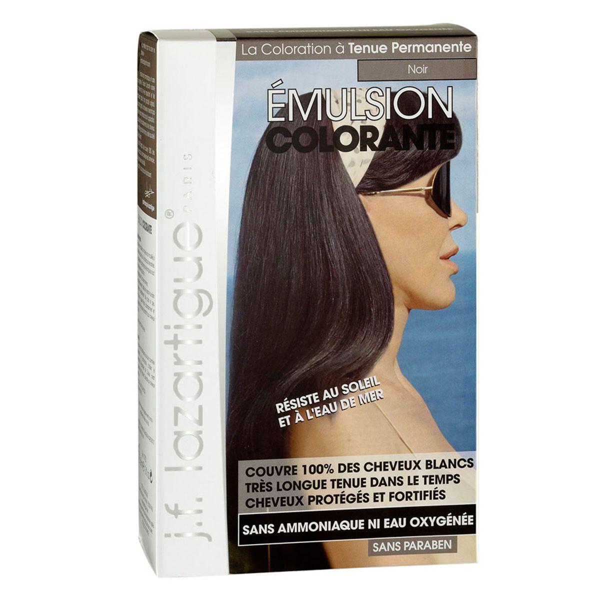 J.F.Lazartigue Оттеночная эмульсия для волос Черный 60 мл01703Благодаря оригинальной формуле полностью (на 100%) скрывает седину, длительное время сохраняет цвет, поддерживает здоровье и жизненную силу волос и сохраняет эти качества, несмотря на воздействие солнечных лучей, морской воды и прочих неблагоприятных экологических факторов. Не осветляет, не повреждает, а укрепляет волосы. Не содержит аммиака, перекиси водорода и парабенов. Не предназначена для окрашивания бровей и ресниц.