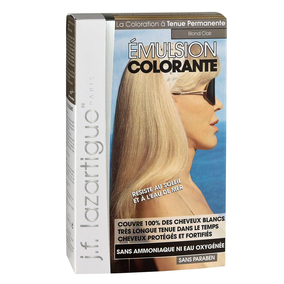 J.F.Lazartigue Оттеночная эмульсия для волос Светлый блондин 60 мл01717Благодаря оригинальной формуле полностью (на 100%) скрывает седину, длительное время сохраняет цвет, поддерживает здоровье и жизненную силу волос и сохраняет эти качества, несмотря на воздействие солнечных лучей, морской воды и прочих неблагоприятных экологических факторов. Не осветляет, не повреждает, а укрепляет волосы. Не содержит аммиака, перекиси водорода и парабенов. Не предназначена для окрашивания бровей и ресниц.