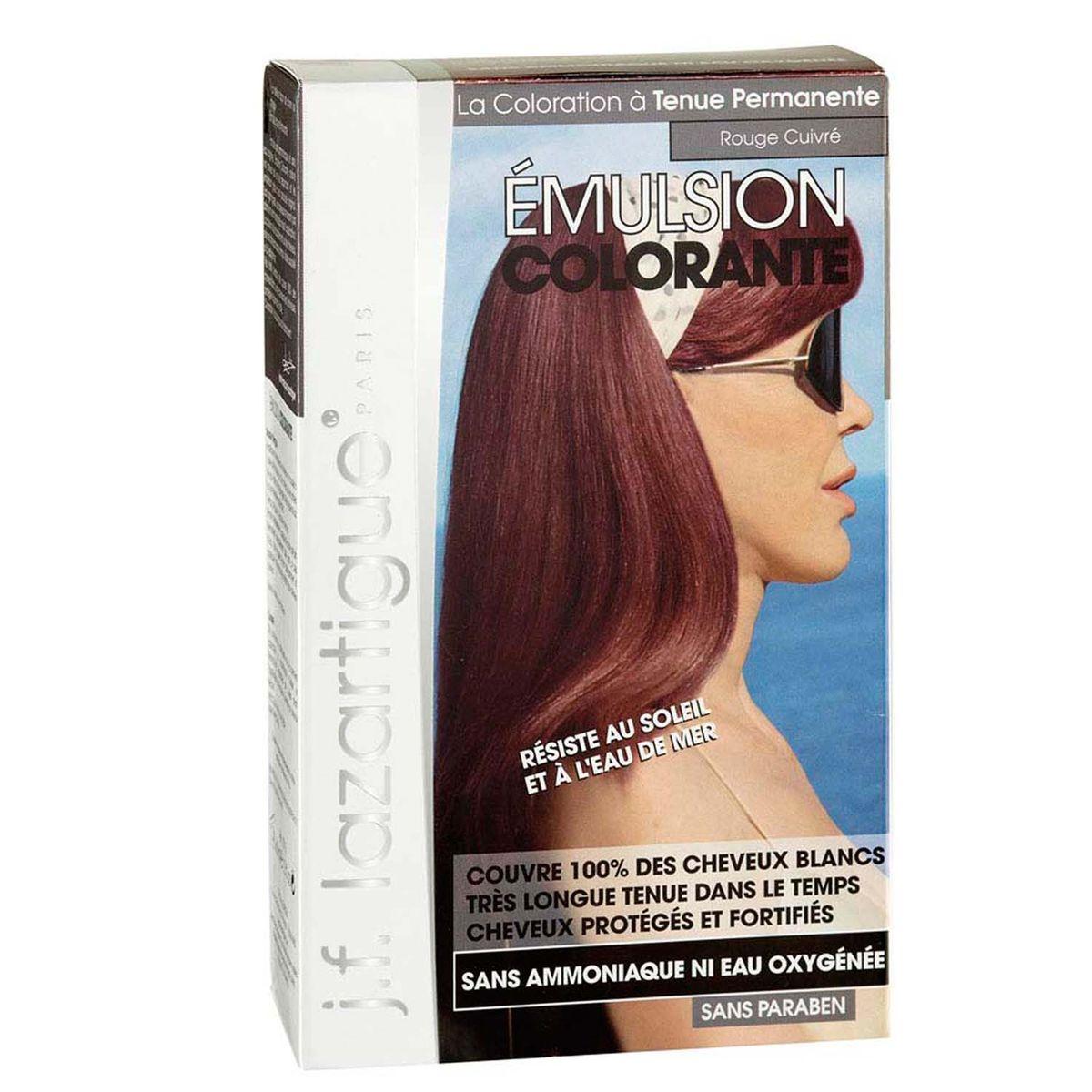 J.F.Lazartigue Оттеночная эмульсия для волос Медно-красный 60 мл01721Благодаря оригинальной формуле полностью (на 100%) скрывает седину, длительное время сохраняет цвет, поддерживает здоровье и жизненную силу волос и сохраняет эти качества, несмотря на воздействие солнечных лучей, морской воды и прочих неблагоприятных экологических факторов. Не осветляет, не повреждает, а укрепляет волосы. Не содержит аммиака, перекиси водорода и парабенов. Не предназначена для окрашивания бровей и ресниц.