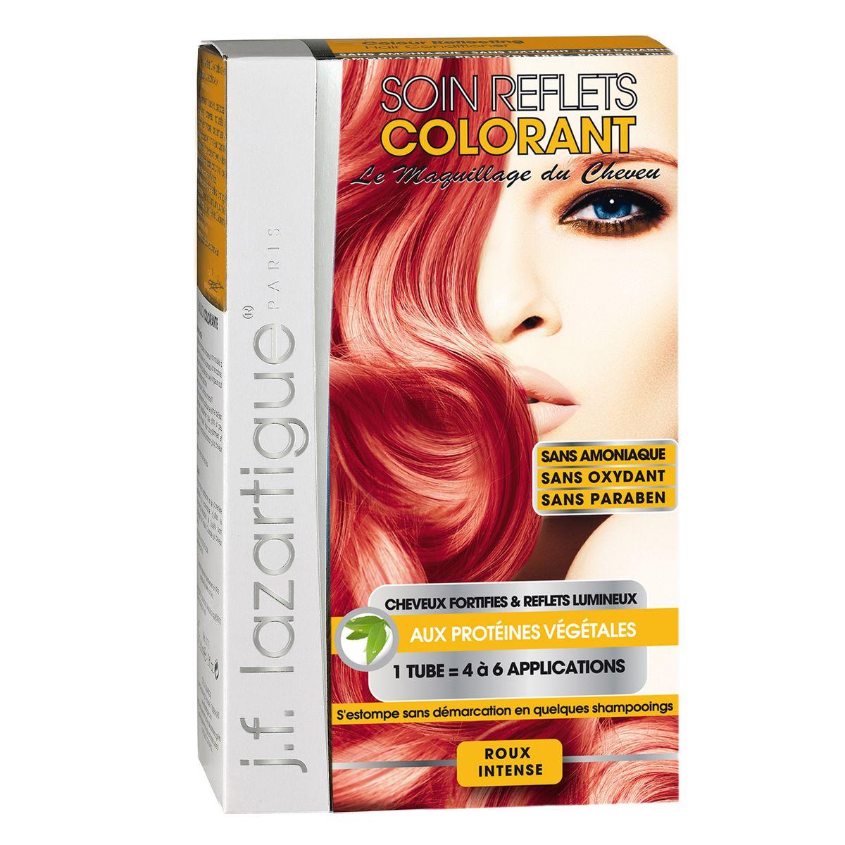 J.F.Lazartigue Оттеночный кондиционер для волос Глубокий рыжий 100 мл61631Оттеночный кондиционер J.F.LAZARTIGUE – это лечебный макияж для Ваших волос. Два эффекта: кондиционирование волос и легкий оттенок. Особенности: придает новый или более теплый (или холодный) оттенок, делает тон темнее или акцентирует цвет, оживляет естественный цвет или придает яркость тусклым и выцветшим на солнце волосам. Закрашивает небольшой процент седины! После мытья волос шампунем (3-6 раз) смывается. Для достижения индивидуального оттенка можно смешать два разных кондиционера: добавить к выбранному ТЕМНЫЙ РЫЖИЙ (Auburn), МЕДНЫЙ (Copper) и т.п. Не осветляет волосы. Не содержит аммиака и перекиси водорода. Не содержит парабенов. Не предназначен для окрашивания бровей и ресниц.
