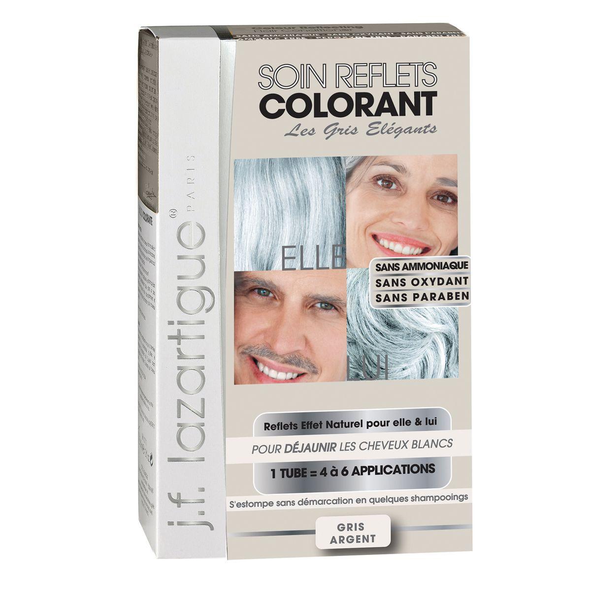 J.F.Lazartigue Оттеночный кондиционер для волос Седой 100 мл61636Оттеночный кондиционер J.F.LAZARTIGUE – это лечебный макияж для Ваших волос. Два эффекта: кондиционирование волос и легкий оттенок.