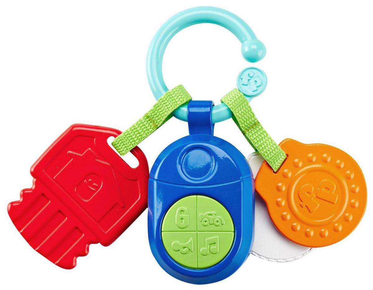 Fisher Price Прорезыватель Музыкальные ключикиDFP52Прорезыватель Fisher Price Музыкальные ключики прекрасная, яркая и действительно полезная игрушка для вашего ребенка. Содержит множество элементов которые можно с удовольствием погрызть. Нажимая на кнопки малыш услышит различные звуки. Цветные элементы помогут в развитии зрения и цветовосприятия ребенка. Игрушка работает от 3 батареек типа LR44 (товар комплектуется демонстрационными).