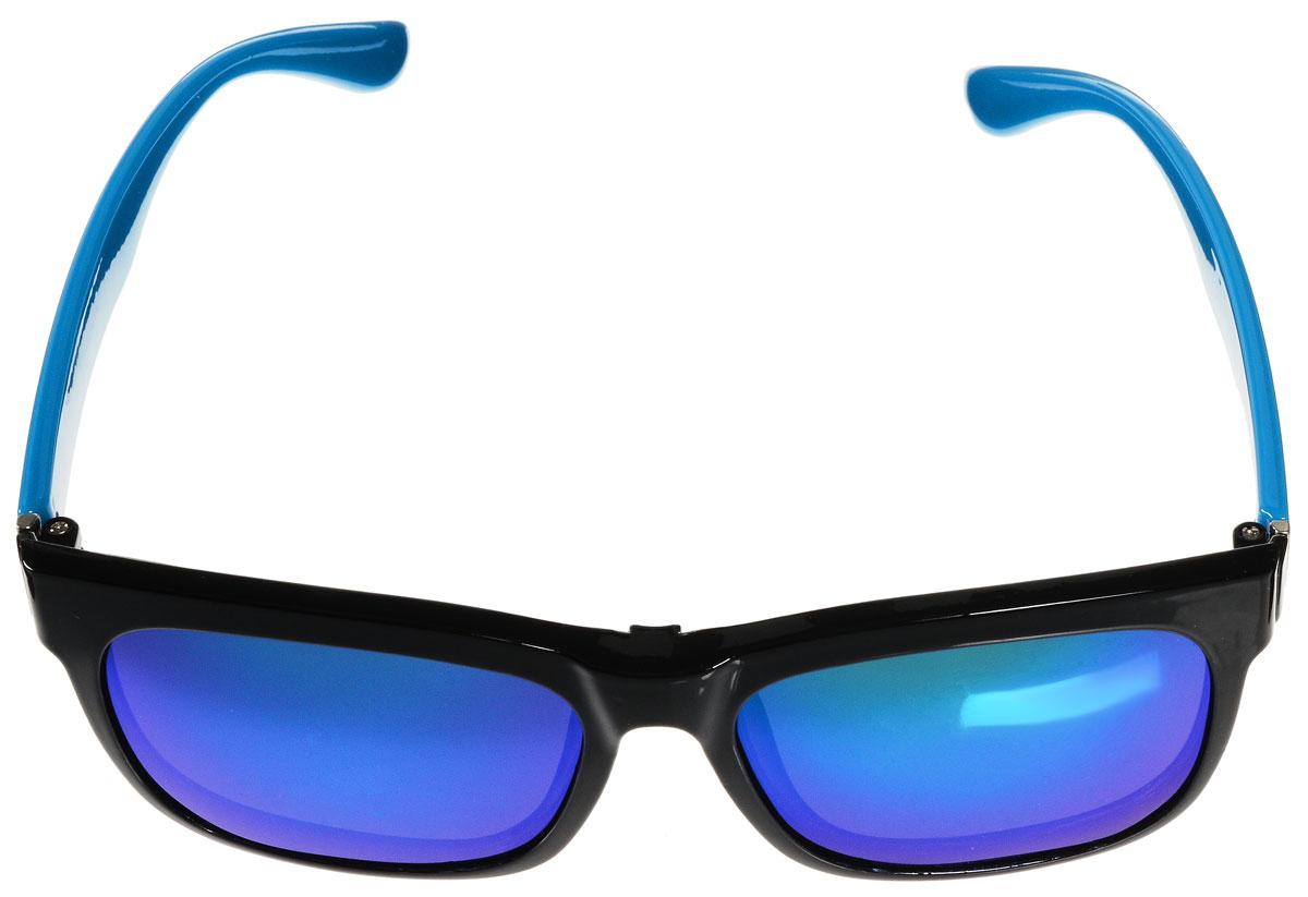 Очки солнцезащитные женские Vitacci, цвет: черный, голубой. H31H31Стильные солнцезащитные очки Vitacci с прозрачными поляризационными линзами в пластиковой оправе дополнены съемными затемненными линзами. Линзы обладают высокоэффективным поляризационным покрытием со степенью защиты от ультрафиолетового излучения UV400. Используемый пластик не искажает изображение, не подвержен нагреванию и вредному воздействию солнечных лучей. Оправа очков легкая, прилегающей формы и поэтому обеспечивает максимальный комфорт. Такие очки защитят глаза от ультрафиолетовых лучей, подчеркнут вашу индивидуальность и сделают ваш образ завершенным.