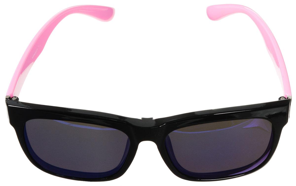 Очки солнцезащитные женские Vitacci, цвет: черный, розовый. H32H32Стильные солнцезащитные очки Vitacci с прозрачными поляризационными линзами в пластиковой оправе дополнены съемными затемненными линзами. Линзы обладают высокоэффективным поляризационным покрытием со степенью защиты от ультрафиолетового излучения UV400. Используемый пластик не искажает изображение, не подвержен нагреванию и вредному воздействию солнечных лучей. Оправа очков легкая, прилегающей формы и поэтому обеспечивает максимальный комфорт. Такие очки защитят глаза от ультрафиолетовых лучей, подчеркнут вашу индивидуальность и сделают ваш образ завершенным.
