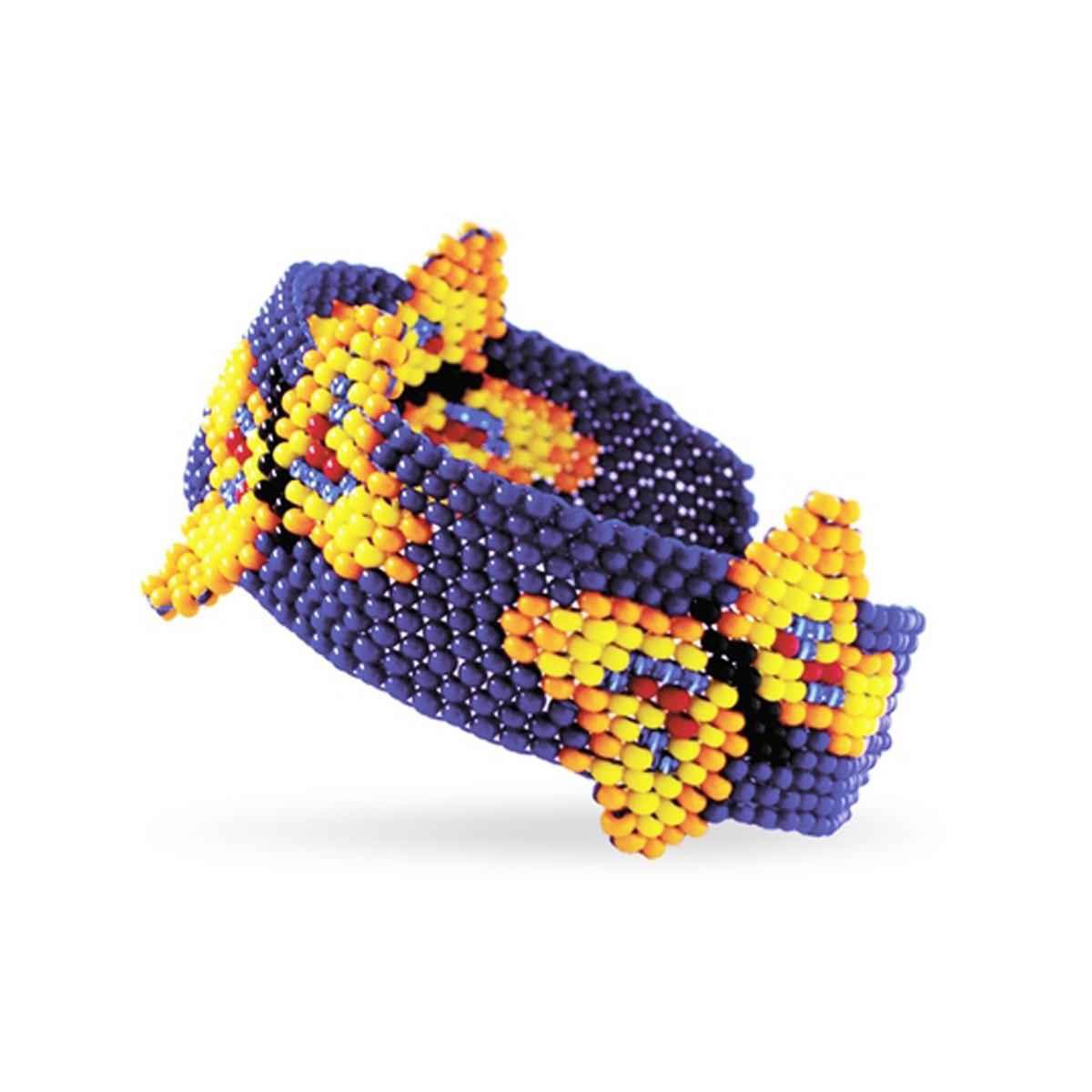 Набор для бисероплетения Кроше Мотылек645096В последнее время плетение бисером набирает популярность среди рукодельниц. Научиться созданию изделий из маленьких ярких бусинок вполне реально, это будет под силу даже детям. Вашему вниманию предлагается многообразие наборов по бисероплению от бренда Кроше. Выбирайте любой из понравившихся и приступайте к созданию шедевра. Состав набора: чешский бисер, бусины, проволока для бисера, схема и описание к работе, замок для бус.