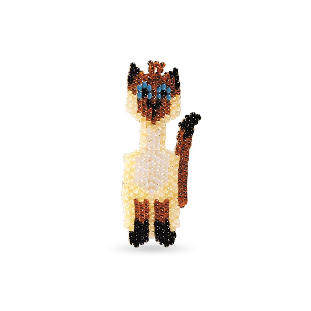 сиамский кот из бисера схемы