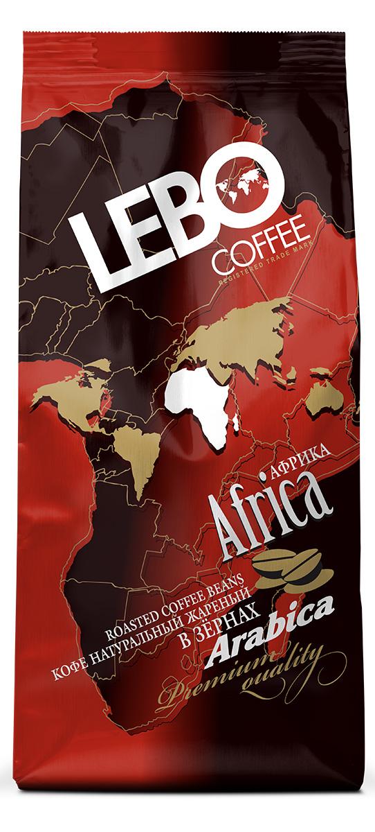 Lebo Африка Арабика кофе в зернах, 250 г