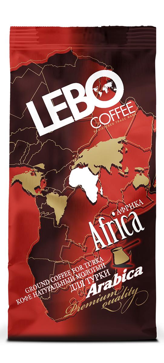 Lebo Африка Арабика кофе молотый, 100 г