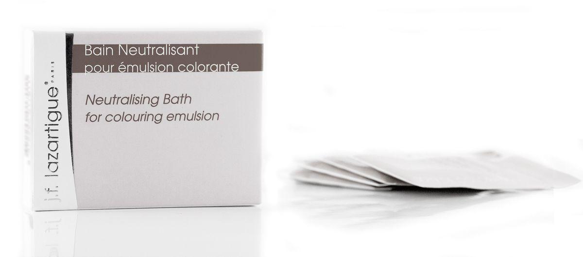 J.F.Lazartigue Нейтрализующая ванна после оттеночной эмульсии 24 мл 01701