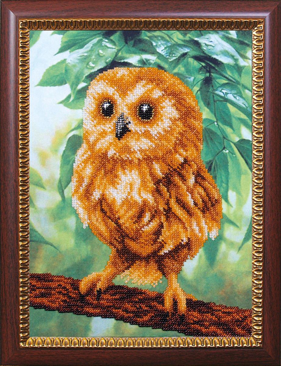 Набор для вышивания бисером Магия канвы Сова Мудрая, 27,5 х 21 см486962Наборы для вышивания бисером Магия канвы - это качественные материалы и красивые сюжеты, которые помогут вам создать маленькое чудо. В состав набора для вышивания бисером Сова Мудрая входит: уплотненная ткань с нанесенным рисунком, бисер Preciosa (Чехия) - 16 цветов, игла, инструкция.
