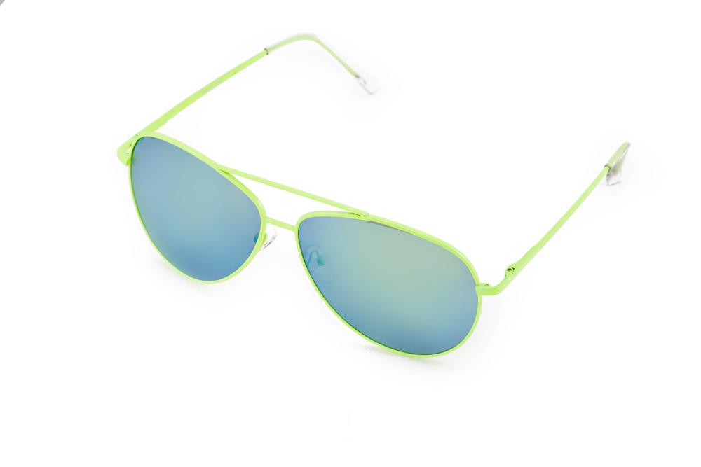 Очки солнцезащитные Mitya Veselkov, цвет: салатовый, синий. P4297-120GM ( P4297-120GM )