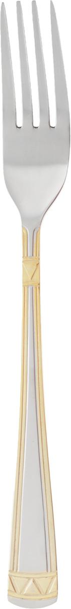Набор столовых вилок Добрыня Треугольник, 3 штDO-1913Набор Добрыня Треугольник состоит из 3 столовых вилок, выполненных из высококачественной нержавеющей стали. Ручки изделий оформлены оригинальным узором. Такой набор прекрасно подойдет для вашей кухни. Сервировка праздничного стола с таким набором станет великолепным украшением любого торжества. Длина вилки: 20,5 см. Размер рабочей части: 4,5 х 2,5 см.