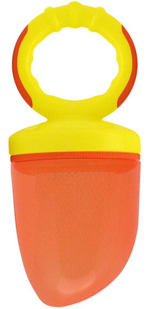 Lubby Ниблер ЖуйКА цвет оранжевый11854Ниблер Lubby ЖуйКА - незаменимый помощник при вводе прикорма для малыша! Изделие для прикорма идеально подходит для ягод, фруктов, овощей и прочих продуктов. Ваш малыш учится есть самостоятельно, исключая возможность поперхнуться кусочками пищи. Сменные сетки к изделию продаются отдельно. При использовании поместите подготовленные продукты в сетку. Вставьте сетку в кольцо и закрепите ее заглушкой. Плотно закрутите крышку с ручкой. Перед первым использованием рекомендуется кипятить изделие в течение 3-5 минут.
