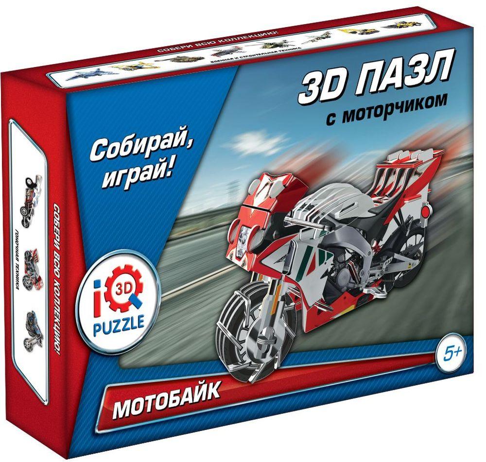 Iq3DPuzzle Пазл Мотоцикл RGV-250 инерционныйFT200123D Пазл Мотоцикл RGV-250 (Красный), инерционный .Размер собранного пазла 6.