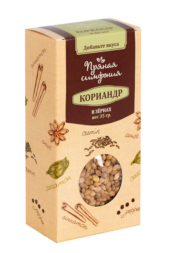 Пряная Симфония Кориандр в зернах, 35 г М4566