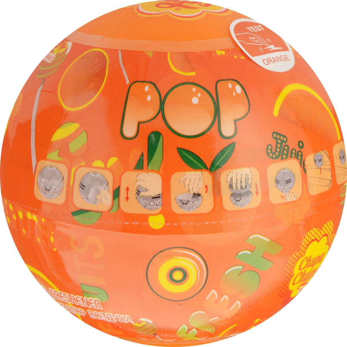Ароматизатор воздуха Autoprofi Chupa Chups, с ароматом апельсина, на панель приборов, гелевый, 100 млCHP601Круглый гелевый ароматизатор воздуха на панель приборов выполнен в виде огромного леденца Chupa Chups. Предназначен для автомобиля, дома или офиса. Такой ароматизатор подарит яркие эмоции своим сочным ароматом и оригинальным дизайном. Срок службы 45 дней. Состав: дипропиленгликоль - 10%, линалоо - 10%, цитронеллол - 1%, цитрал - 1%, гераниол - 5%, гарденол - 15%, дистиллированная вода - 80,5%, полиэтиленгликоль - 15/ПЭГ-40 гидрогенизированное касторовое масло/пропиленгликоль - 5%, этиловый спирт - 5%. Товар сертифицирован.
