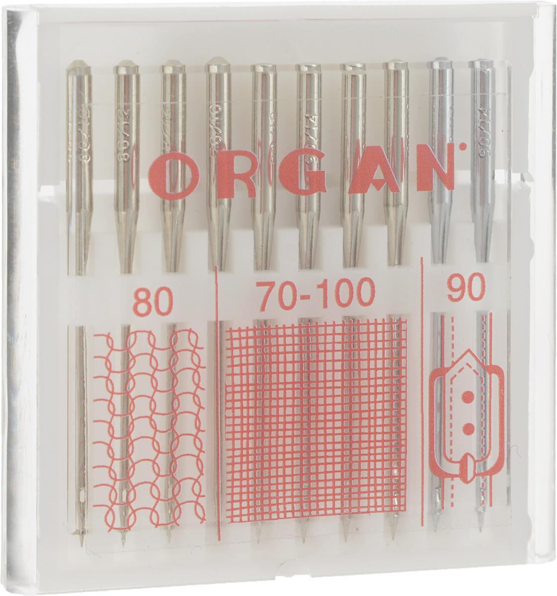 Набор игл для швейных машин Organ