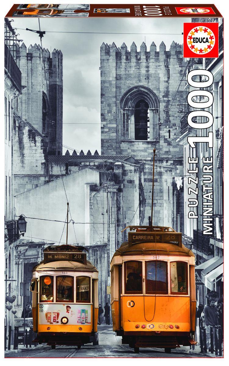 Educa Пазл Район Альфама Лиссабон16763Пазл 1000 деталей Район Альфама, Лиссабон. Размер собранного пазла 68х48см