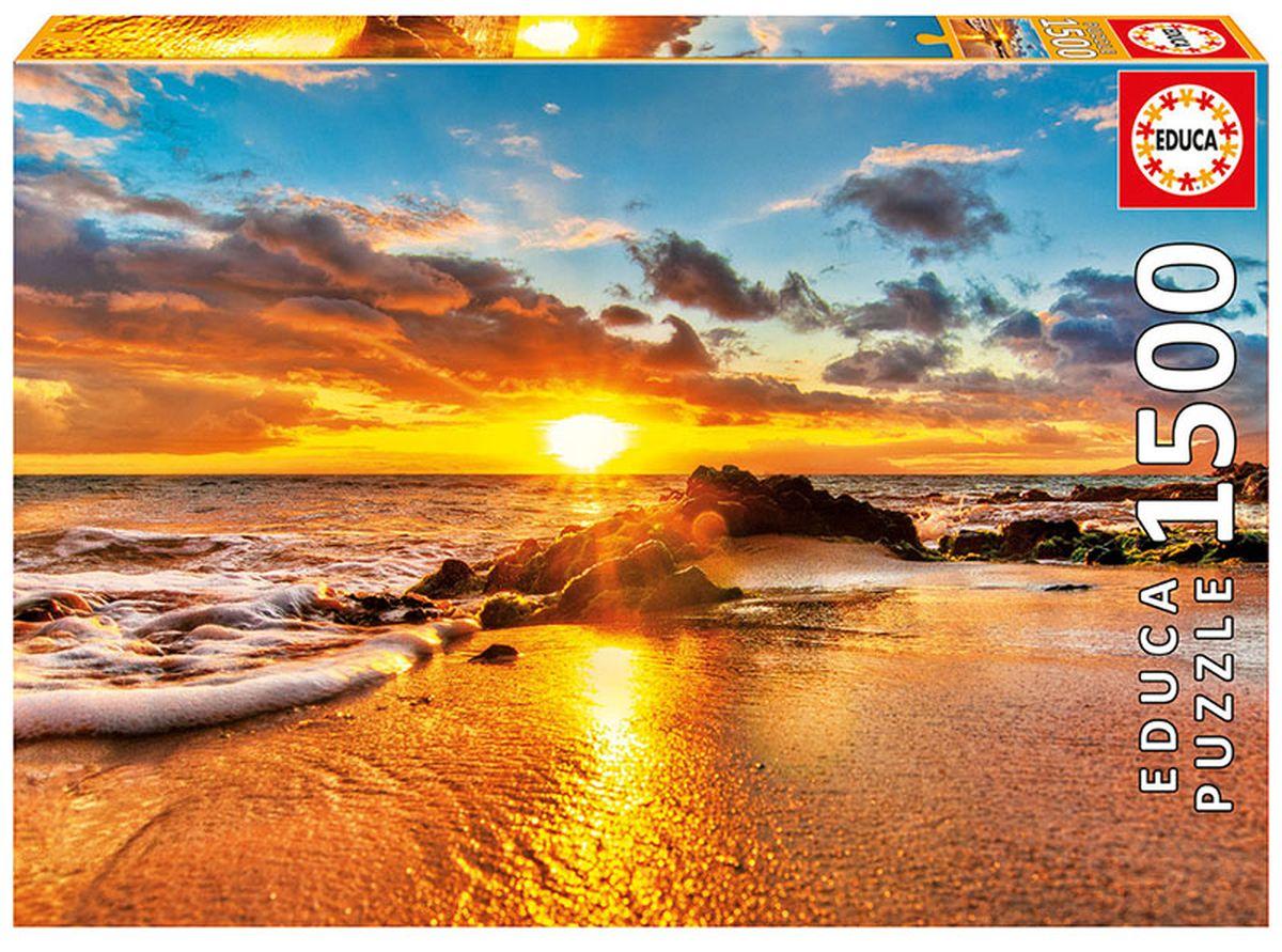 Educa Пазл Закат в Мауи16771Пазл 1500 деталей Закат в Мауи. Размер собранного пазла 85х60см