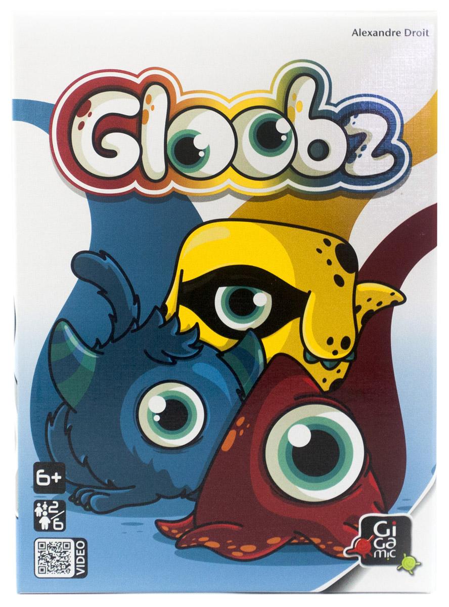 Gigamic Настольная игра Глубз3421271401414Настольная игра Gigamic Глубз - увлекательное состязание на скорость и внимательность! Четверка Глубзов и три баночки с красками собрались в кружок и с нетерпением ждут, кому они достанутся на этот раз. В зависимости от формы, цвета и количества Глубзов на карточках, первым схватите нужного Глубза. А иногда и сразу по несколько Глубзов и баночек с красками! У каждого Глубза есть форма и цвет. Форма представлена фигурками Глубзов, а цвет - баночками краски. В каждом раунде игрок переворачивает карту Глубза. Если перед этим он сказал: Больше Глубзов! - нужно схватить фигурку той формы и баночку того цвета, которых больше всего на карте. Но если игрок сказал: Меньше Глубзов! - нужно схватить фигурку той формы и баночку того цвета, которых на карте меньше всего. Каждая фигурка или баночка, которую вы схватили правильно, приносит вам победное очко - и вы уже на один шаг ближе к цели. Но будьте бдительны: некоторые особые карты усложняют вашу задачу! Игра предназначается для...