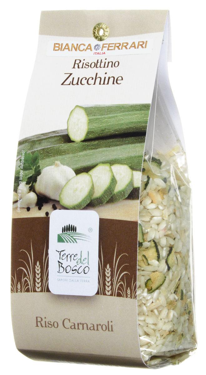 Terre Del Bosco Цуккини рис для ризотто, 250 гBF.006.RATerre Del Bosco Цуккини - тонкий рис высшего сорта с добавлением петрушки, чеснока, и лука для приготовления ризотто. Содержание цукини: не менее 3%.