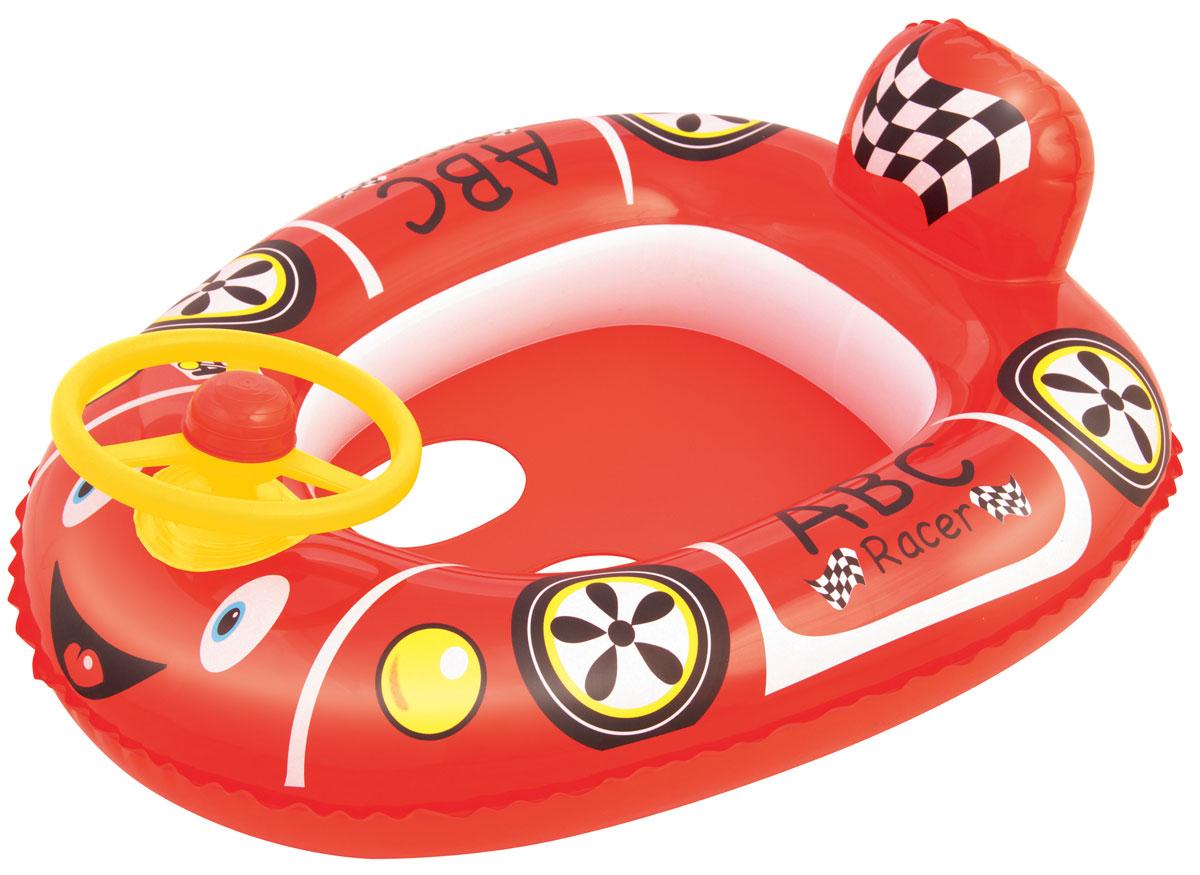 Bestway Надувной круг-ходунок Гоночная машина цвет красный