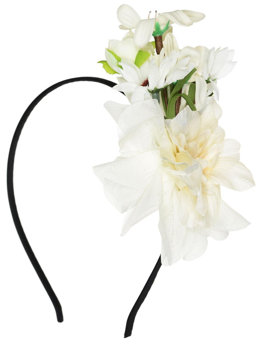 Ободок Migura, цвет: белый, зеленый, черный. NOD0025