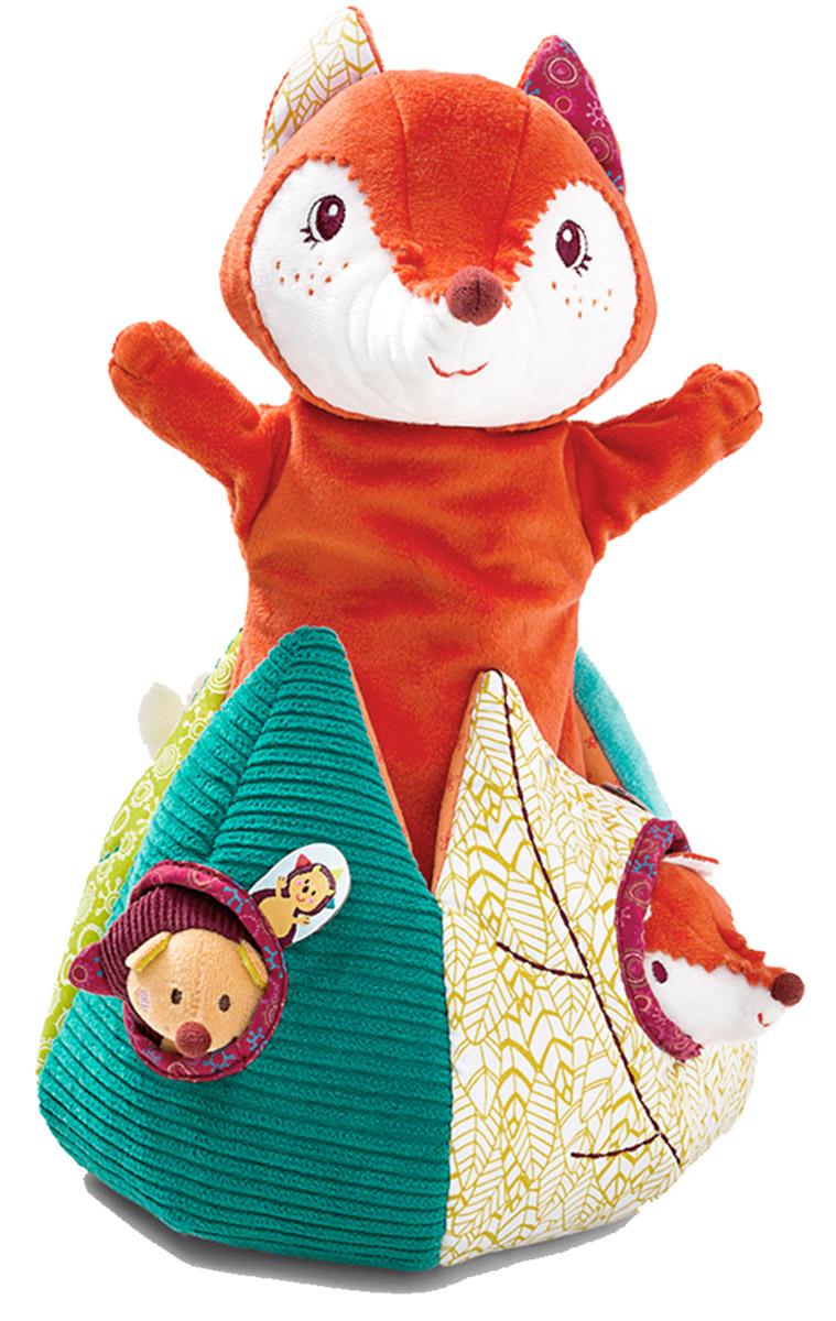 Lilliputiens Мягкая развивающая игрушка Лиса Алиса и ее друзья86607Озорная Лиса Алиса выглядывает из листвы, приглашая поиграть! На этот раз лисичка взяла с собой друзей: ежика Симона, кролика и лисенка - с такой компанией не до скуки! Каждая пальчиковая игрушка издает свой особый звук, чтобы малышу было проще различать их. Лису Алису также можно использовать как куклу на руку. Мягкая развивающая игрушка Lilliputiens Лиса Алиса и ее друзья поможет ребенку в развитии цветового и звукового восприятия, концентрации внимания, мелкой моторики рук, координации движений и тактильных ощущений. Lilliputiens - это бельгийская компания, где дизайном и проектированием игрушек занимаются молодые мамы. Для каждой игрушки мамы-дизайнеры подбирают новую ткань со своей текстурой и цветом. Такой индивидуальный подход к игрушке рождает совершенно новое, ни на что непохожее оригинальное творение.