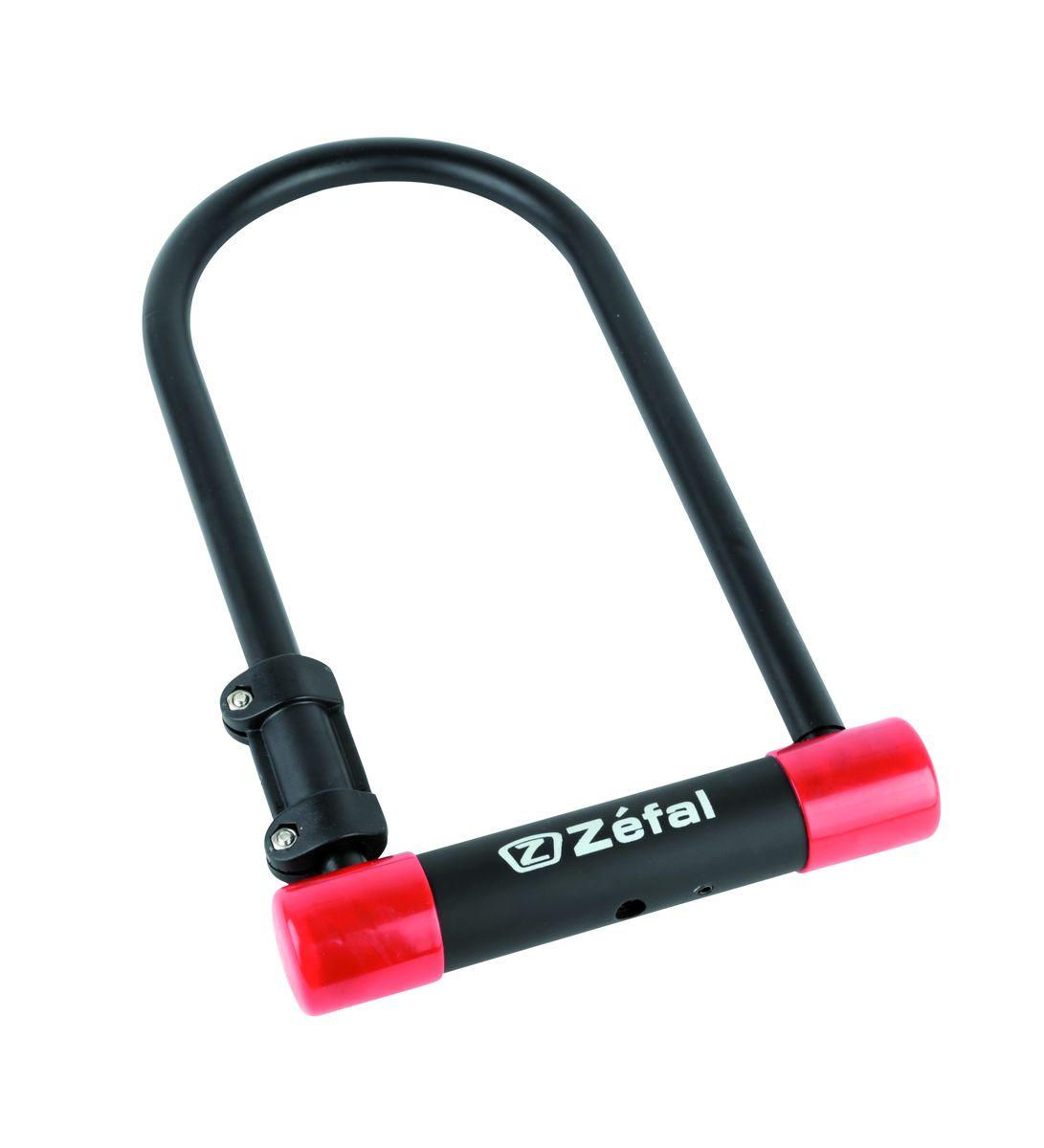 Замок велосипедный Zefal K-TRAZ U13 (U-Locks)4940Противоугонный компактный жесткий велосипедный замок Zefal K-TRAZ U13 MINI - это отличная вещь для сохранности вашего велосипеда. Замок сделал на базе сверхпрочного стального U-образного профила диаметром 13мм. Применяется для защиты от кражи велосипеда и прочего малогабаритного транспорта. К замку прилагаются три ключа. Благодаря небольшим размерам, этот замок удобно брать с собой. Zefal – старейший французский производитель велосипедных аксессуаров премиального качества, основанный в 1880 году, является номером один на французском рынке велосипедных аксессуаров. Противоугонный жесткий U-образный замок Zefal K-TRAZ U13 MINI, универсальный, замок под ключ, цвет черный ОСОБЕННОСТИ: - U-образная конструкция - Диаметр прутка 13 мм - 3 ключа - Размеры 90 х 140 мм - Вес замка 840 гр