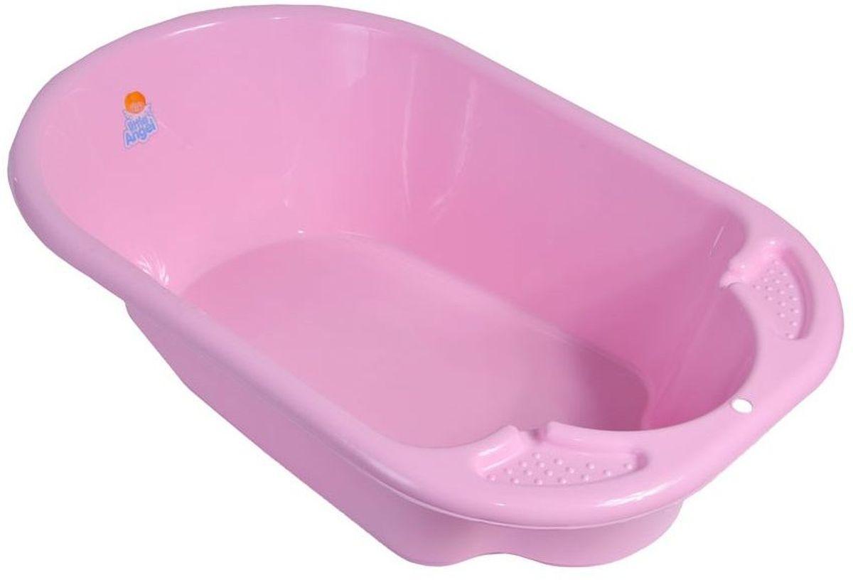 Little Angel Ванна детская Дельфин цвет розовый