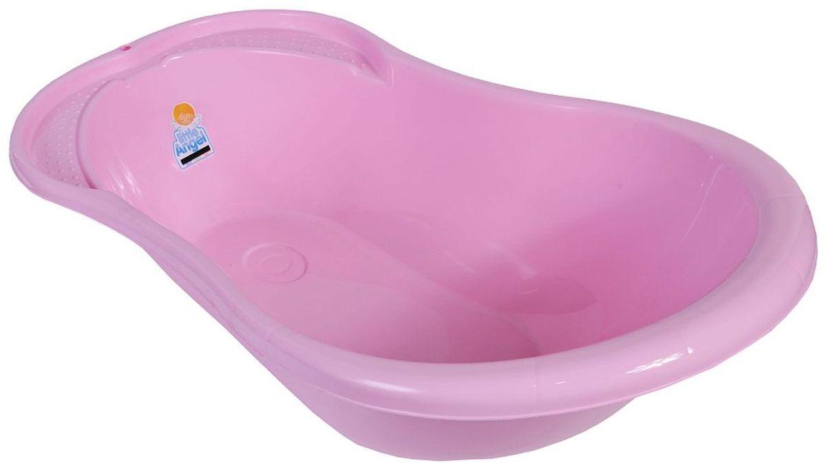 Little Angel Ванночка детская Ангел с термометром 84 см цвет розовый ( LA4102RS )