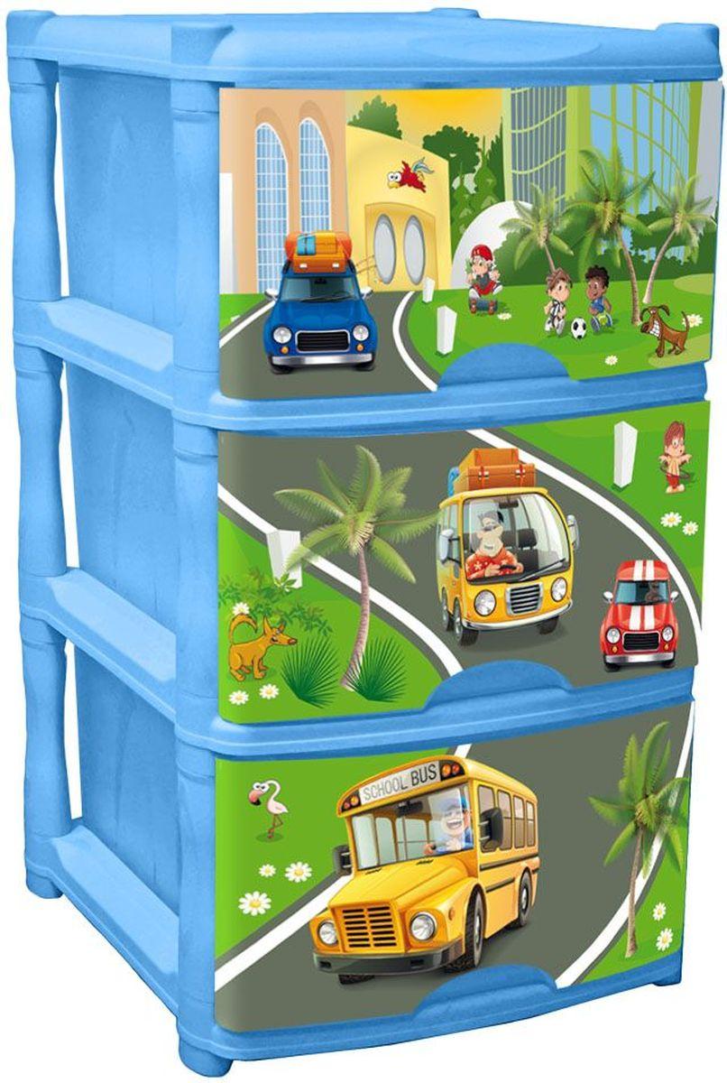 Little Angel Детский комод City Cars Tutti 3 ящика цвет голубойLA4713BSОчаровательный дизайн с машинками в солнечном городе создан специально для малышей. Разные машинки понравятся детям и их родителям и помогут изучить мир. Новый комод Tutti выполнен в голубом цвете. Каждый ящик комода имеет свой уникальный декор, а вместе они составляют неповторимую композицию. Сглаженные углы и облегченная конструкция комода безопасна даже для самых активных малышей.