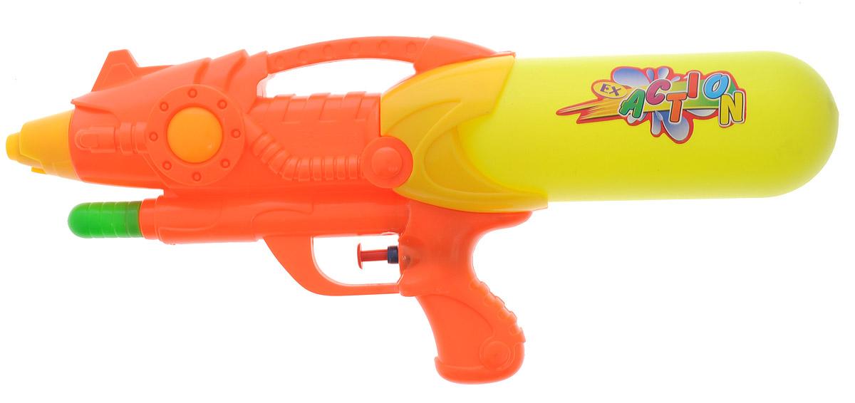 Bebelot Водный бластер цвет оранжевыйBEB1106-015Водный бластер Bebelot станет отличным развлечением для ребят в жаркую летнюю погоду. Бластер, выполненный из прочного и безопасного пластика ярких цветов, невероятно прост в использовании. Заполните резервуар водой и начинайте стрелять! При нажатии на курок бластер выстреливает струей воды. Оснащен съемным резервуаром, который надежно крепится при помощи резьбы. Такая игрушка не только порадует малыша, но и поможет ему совершенствовать мелкую моторику и координацию движений. С водным бластером ваш малыш сможет устроить настоящее водное сражение!