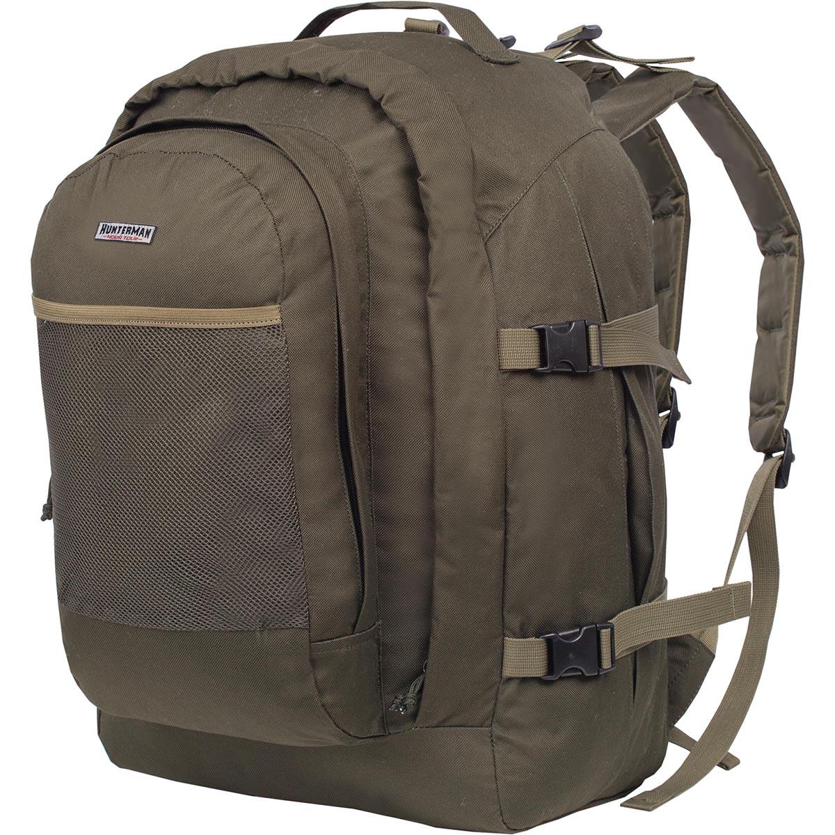 Рюкзак для охоты Nova Tour Бекас 55 V3, цвет: зеленый, 55 л95813-502-00Заслуженный ветеран и лидер продаж в своей серии. Простой, надежный, проверенный временем и километрами дорог. Компактность рюкзака обеспечит маневренность, а четко выверенная высота крепления плечевых лямок и отсутствие высокого верхнего клапана расширит обзор.