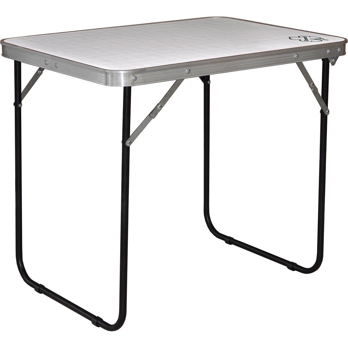 Стол складной Greenell FT-12 R16 WR, цвет: стальной95860-000-00Складной стол для кемпингового отдыха на природе. Водостойкий материал столешницы. Макс нагрузка: 30 кг