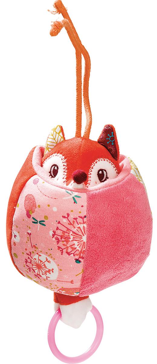 Lilliputiens Мягкая развивающая игрушка Лиса Алиса 8675486754Мягкая развивающая игрушка Lilliputiens Лиса Алиса - это отличная развивающая игрушка, которая непременно приведет в восторг самых маленьких. Подвесную игрушку-лисичку можно повесить на коляску или детское кресло, чтобы она развлекала вашего ребенка в дороге! Мягкая и красочная игрушка обязательно понравится вашему малышу. Если потянуть за голову, то она вытянется и начнет вибрировать, а если малыш будет сжимать игрушку в руках, то услышит приятное шуршание. Игрушка изготовлена из высококачественных материалов, не вызывающих аллергию у вашего малыша.