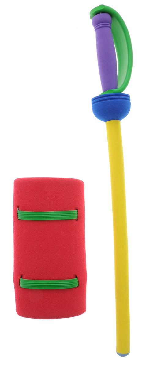 Safsof Рыцарский меч цвет желтый красныйKJ-01(B)_желтый,красныйРыцарский меч Safsof прекрасно подойдет для активных игр или может стать дополнением к маскарадному костюму. Меч изготовлен из вспененной резины, что не позволит детям поранить друг друга. В набор входит меч и защита на руку. Каждый мальчик хотя бы раз мечтал стать благородным рыцарем и борцом за справедливость. С такой игрушкой это возможно. Фантазия ребенка перенесет его в мир средневековья. Можно организовать посвящение в рыцари, устроить настоящий рыцарский турнир или сразиться за сердце прекрасной дамы, а может уничтожить невиданное чудовище и спасти целый город! Игрушка создана для поддержания спортивного интереса у детей, развития физических навыков и командного духа. Порадуйте своего ребенка таким необычным подарком! Уважаемые клиенты! Обращаем ваше внимание на возможные варьирования цвета у ручки меча. Поставка осуществляется в зависимости от наличия на складе.