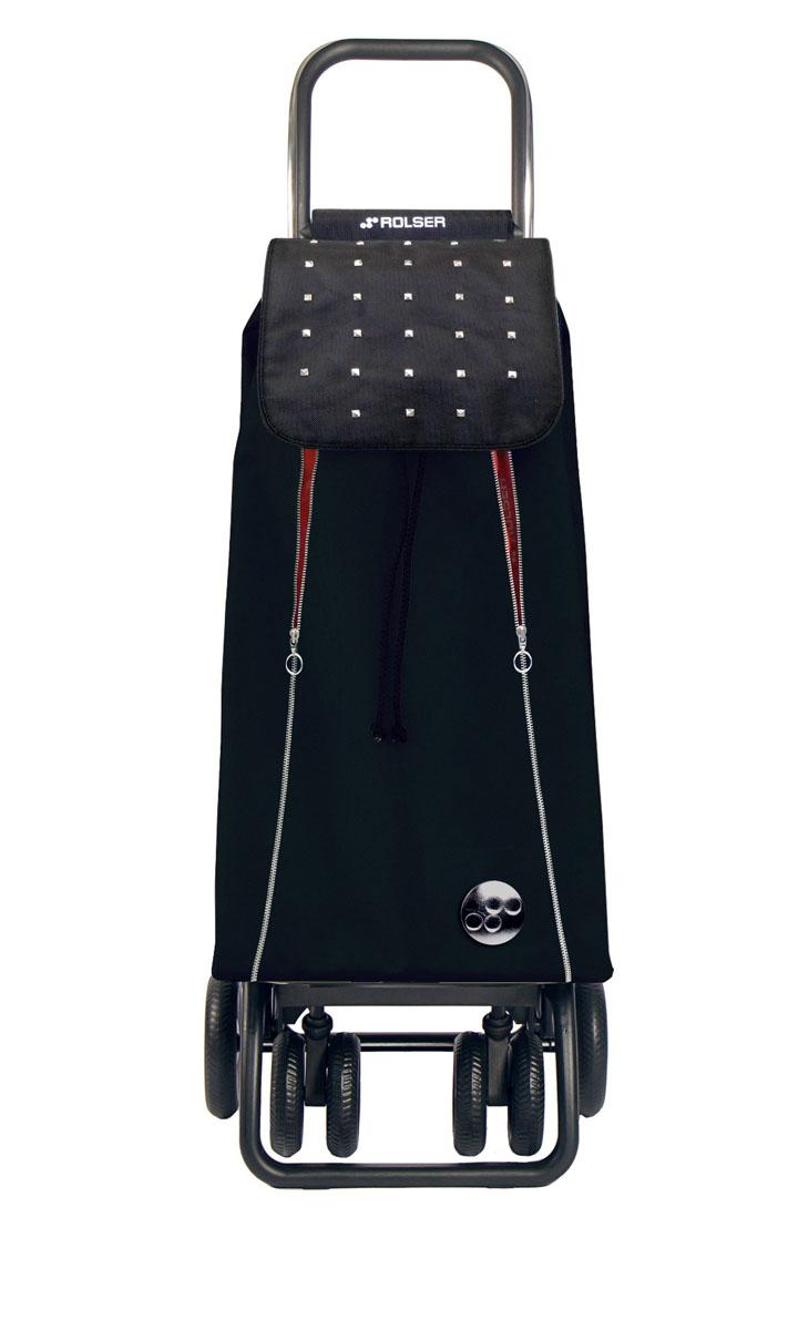 Сумка хозяйственная Rolser, на колесиках, цвет: negro, rojo, 48 лPAC097 negro/rojoАлюминиевая тележка для покупок с 6 колесами, диаметр колес передние 11,5 см,задние 14,7 см. Быстро трансформируется 2 типа сложения: двойное сложение рамы и передней подставки, занимает минимальное место в сложенном виде при хранении. Колеса резина EVA. Сумка имеет объем 48 л, ткань полиэстер, влагоустойчивая. Тележка складывается. Рекомендованная нагрузка 25 кг, чистка ручная или химчистка.