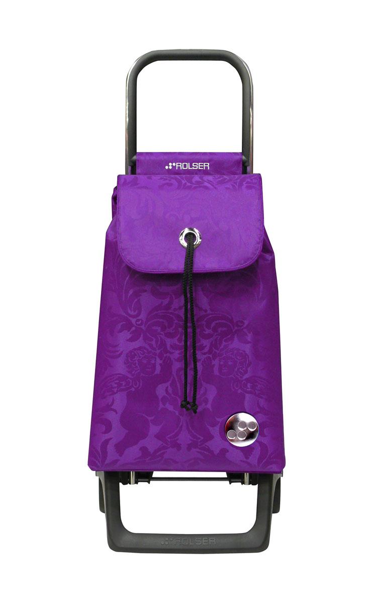 Сумка хозяйственная Rolser, на колесиках, цвет: malva, 36 лBAB008 malvaАлюминиевая тележка для покупок с 2 колесами, диаметр колес 13,2 см, колеса резина EVA. Эргономичная ручка, складываемая передняя подставка. Сумка имеет форму рюкзака, объем 36 л, ткань полиэстер, влагоустойчивая, имеет удобное закрытие сумки и легко крепиться на раме. Тележка не складывается. Рекомендованная нагрузка 25 кг, чистка ручная или химчистка.