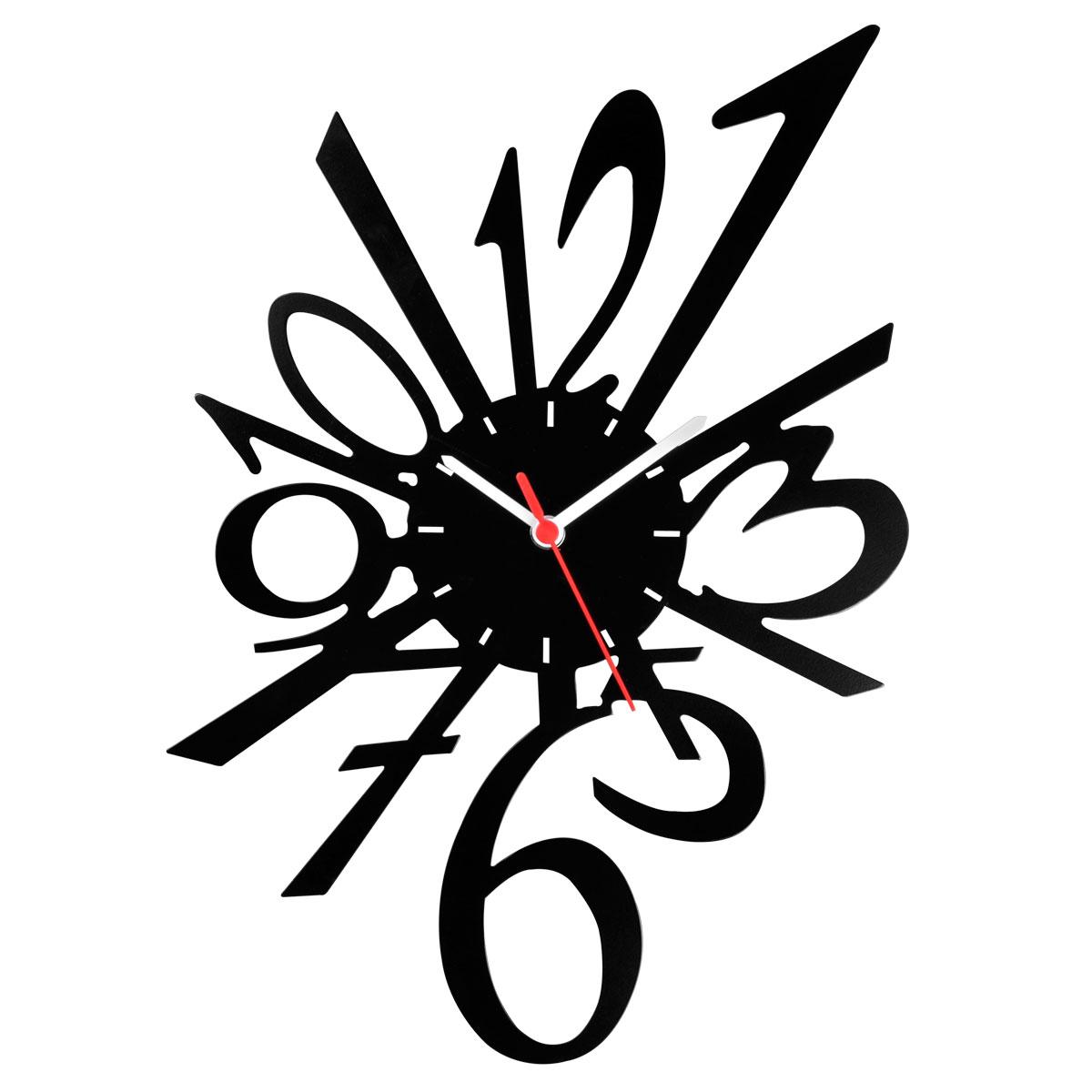 Часы настенные Miolla Цифры, цвет: черный, белыйCH007Оригинальные настенные часы круглой формы выполнены из стали. Часы имеют три стрелки - часовую, минутную и секундную и циферблат с цифрами. Необычное дизайнерское решение и качество исполнения придутся по вкусу каждому. Оформите свой дом таким интерьерным аксессуаром или преподнесите его в качестве презента друзьям, и они оценят ваш оригинальный вкус и неординарность подарка.