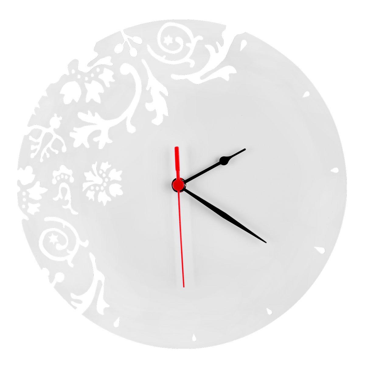 Часы настенные Miolla Узор, цвет: голубой, белыйCH020Оригинальные настенные часы круглой формы выполнены из стали. Часы имеют три стрелки - часовую, минутную и секундную и циферблат с цифрами. Необычное дизайнерское решение и качество исполнения придутся по вкусу каждому. Оформите свой дом таким интерьерным аксессуаром или преподнесите его в качестве презента друзьям, и они оценят ваш оригинальный вкус и неординарность подарка.