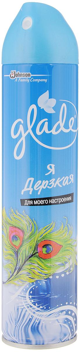 Освежитель воздуха Glade Я Дерзкая, 300 мл160516991Освежитель воздуха Glade Я Дерзкая содержит высококачественные натуральные ароматизаторы. Он быстро и эффективно устраняет неприятные запахи, оставляя свой тонкий и нежный шлейф. Освежитель безопасен для окружающей среды и здоровья человека - не содержит хлорфторуглеродов. Состав: вода, изобутан/пропан/бутан >=15%, но <30%, н-ПАВ <5%, фосфаты <5%, отдушка, растворители, водный раствор аммиака, консервант, линаоол.