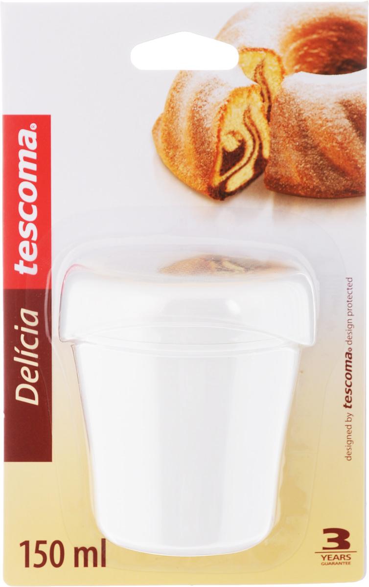 Сахарница Tescoma Delicia, с крышкой, 150 мл630329Сахарница Tescoma Delicia, выполненная из прочного пластика, оснащена прозрачной крышкой для предохранения наполнителя от сырости. Ситечко изготовлено из высококачественной нержавеющей стали. Сахарницу можно легко разобрать Можно мыть в посудомоечной машине. Диаметр сахарницы (по верхнему краю): 6 см. Высота сахарницы (без учета крышки): 9 см.