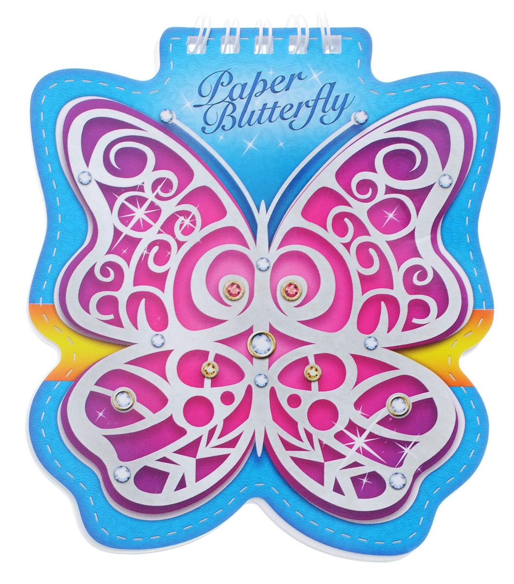 Hatber Блокнот Paper Butterfly 60 листов60Б6Aгр_12691Блокнот Hatber Paper Butterfly послужит прекрасным местом для памятных записей, любимых стихов и многого другого. Внутренний блок состоит из 60 листов белой бумаги на металлическом гребне без линовки. Интересные форма и обложка блокнота притягивают взгляды всех любителей необычного. Блокнот - незаменимый атрибут современного человека, необходимый для рабочих и повседневных записей в офисе и дома.